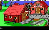 King's Quest III: To Heir is Human DOS Seaside town
