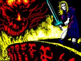 Satan ZX Spectrum Loading screen
