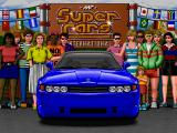 Supercars International DOS Introduction screen