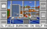 Black Gold Amiga One of my oil fields is burning!