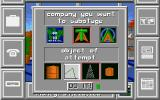 Black Gold Amiga Select a company and object to sabotage
