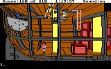 King's Quest III: To Heir is Human DOS Prisoner in the ship's hold