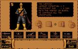 Storm Master DOS Recruiting Screen - Here you can recruit various troop types for your air armada