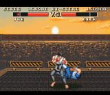 Deadly Moves SNES This is the strongest opponent you can freely choose.