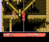 Indiana Jones and the Last Crusade: The Action Game NES Avoiding the indian attacks.