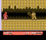 Indiana Jones and the Last Crusade: The Action Game NES The first boss.