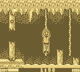 Indiana Jones and the Last Crusade: The Action Game Game Boy Making your way across the water.