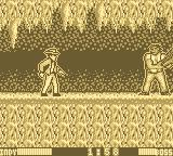 Indiana Jones and the Last Crusade: The Action Game Game Boy The first boss.