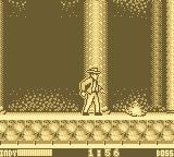 Indiana Jones and the Last Crusade: The Action Game Game Boy Avoiding the falling flames.
