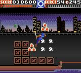 Ninja Gaiden Game Gear You're invincible (those flames circle around you)