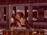 Duke Nukem 3D DOS Up close and personal with an enforcer