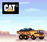Caterpillar Construction Zone Game Boy Color Loading level 1