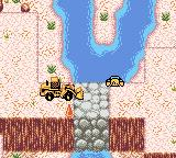 Caterpillar Construction Zone Game Boy Color Using the 980G wheel loader