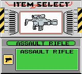 Bionic Commando: Elite Forces Game Boy Color If attacking, select you weapon