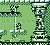 Bionic Commando Game Boy Level 1 big boss
