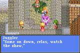 Tales of Phantasia Game Boy Advance How can you relax with a freaky clown like that around?!