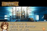 Monster Rancher Advance Game Boy Advance This is the Monster Shrine of Age.  Meet Bolsoi