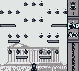 Bomb Jack Game Boy Level 2