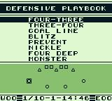 Bo Jackson: Two Games in One Game Boy Select you strategy