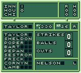 Bo Jackson: Two Games in One Game Boy The inning's stats