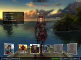 Guild Wars: Factions Windows Character Selection (Prophecies/Factions mix)