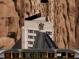 Duke Nukem 3D DOS Flying and attacking with the jetpack