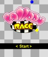 Balloon Race J2ME Title screen