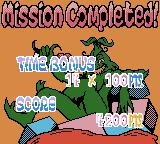 The Grinch Game Boy Color Mission Completed