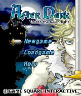 After Dark: Under the Moon Light J2ME Title screen