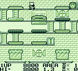 Burger Time Deluxe Game Boy Level 3