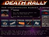 Death Rally DOS Buy illegal items