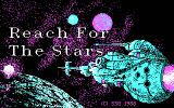 Reach for the Stars: The Conquest of the Galaxy DOS Title Screen (CGA)
