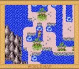 Super Adventure Island II SNES The parts of this level are connected by a number of swirls