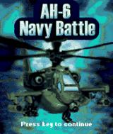 AH-6 Navy Battle J2ME Title screen