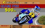 Grand Prix 500 cc Atari ST Loading screen