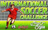 International Soccer Challenge Atari ST Loading screen