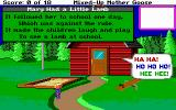 Mixed-Up Mother Goose DOS The nursery rhyme plays when you return an item (EGA/Tandy/MCGA)
