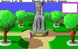 Mixed-Up Mother Goose DOS Exploring the lands (EGA/Tandy/MCGA)