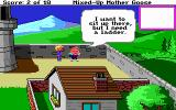 Mixed-Up Mother Goose DOS Humpty Dumpty needs a ladder (EGA/Tandy/MCGA)