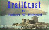Grailquest DOS Title screen