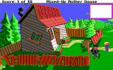 Mixed-Up Mother Goose DOS This sure is a crooked old house (EGA/Tandy/MCGA)