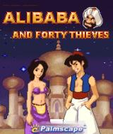 Alibaba and Forty Thieves J2ME Title screen