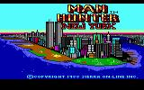 Manhunter: New York DOS Title Screen