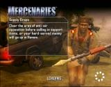 Mercenaries: Playground of Destruction Xbox One of the many loading screens.