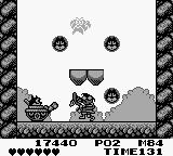 Felix the Cat Game Boy The first boss