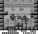Felix the Cat Game Boy The second boss