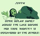 Disney's Mulan Game Boy Level 2's story
