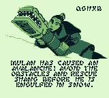 Disney's Mulan Game Boy Level 3's story