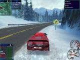 Need for Speed: High Stakes Windows On the snow with Lamborghini