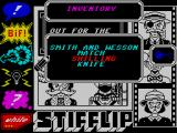 Stifflip & Co. ZX Spectrum Starting inventory